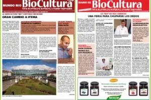 Collage de Picnik5 - Publicaciones online de Biocultura otoño 2011: boletín 47 y diario de la feria de Madrid