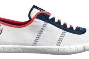 EVADEO PET WHITE RED NAVY - FYE: el calzado ecológico que respeta el medio ambiente, consumidores y condiciones de trabajo