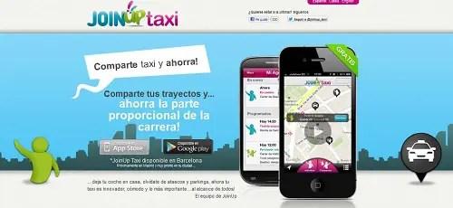 JoinUp Taxi - Compartiendo taxi con JoinUp Taxi. Los viernes de Ecología Cotidiana