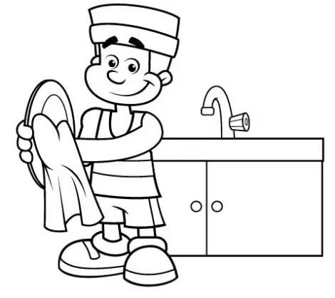 Lavar platos - Lavar platos