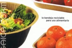 SAICA FORMA bandeja para uso alimentario reciclable - SAICA FORM: el envase alimentario reciclado, reciclable, biodegradable y sostenible