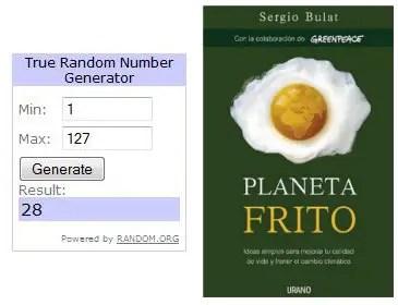 Sorteo Planeta Frito Ganadores - Sorteo Planeta Frito - Ganadores