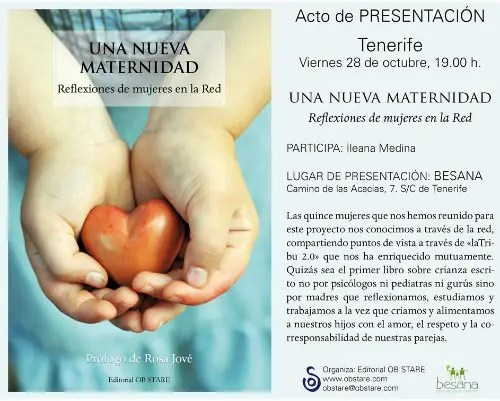 Una Nueva Maternidad presentación TFEw - Una Nueva Maternidad presentación tenerife