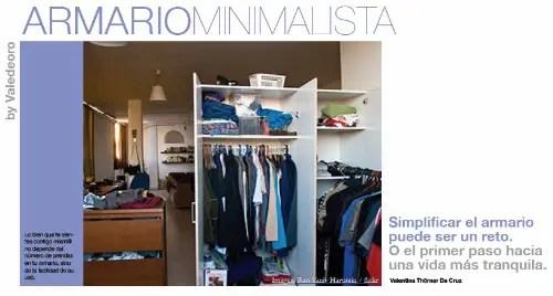 armario minimalista - armario minimalista