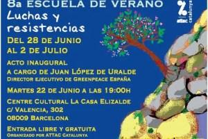 attac - LUCHAS Y RESISTENCIAS: escuela de verano para adultos gratuita