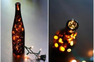 botella luz - Luz veraniega