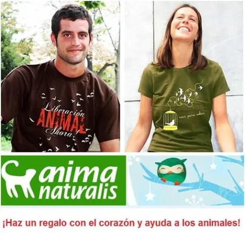 camisetas animales - camisetas anima naturalis