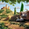 carl warner paisaje - Bellos paisajes para comer y... para ver