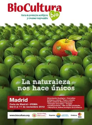 cartel Biocultura Madrid 2012 - BIOCULTURA Madrid 2012