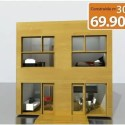casa1 - QubicHouse: casa prefabricada moderna en 30 días y por 69.900 euros
