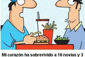 chiste hamburguesa - ¿Hamburguesa con patatas fritas?