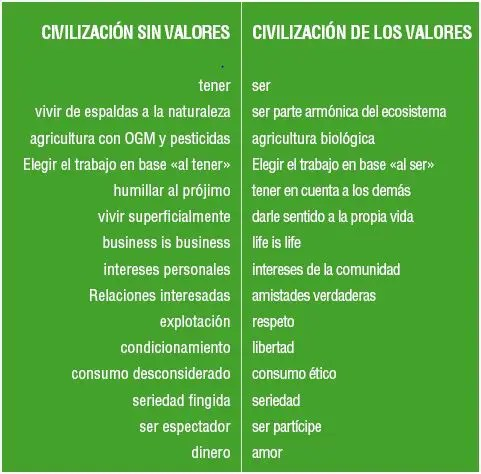 civilizacion - civilizacion con valores
