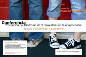 """conferencia adolescencia2 - Prevención del """"Síndrome Frankestein"""" en la adolescencia: conferencia en Valencia"""
