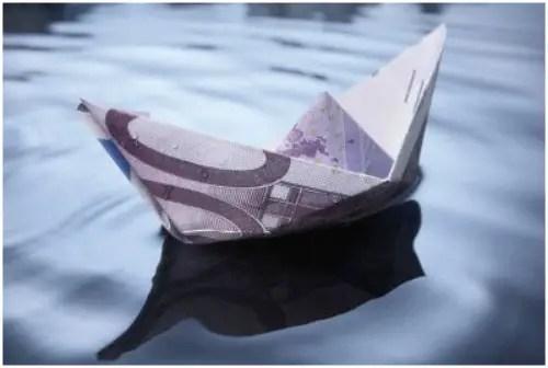 dinero - barco dinero
