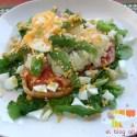 ensalada - Ensalada de coliflor, aguacate y huevo a la mostaza