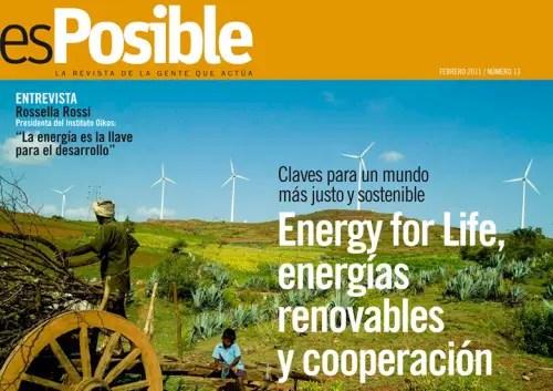 esPosible numero 13 Energy for life energias renovables y cooperacion - esPosible numero 13 - Energy for life energias renovables y cooperacion