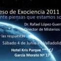 exociencia - I Congreso de Exociencia 2011 en Valladolid. ¿Realmente piensas que estamos solos?