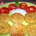 falafel plato - Receta de falafel con salsa de yogur