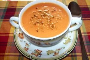 gazpacho de mango - Receta de gazpacho de mango
