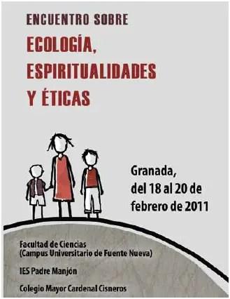 granada - encuentros ecologia espiritualidades y etica