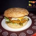 hamburguesa - Hamburguesa vegetal XXL