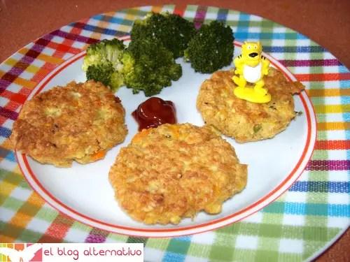 hamburguesa2 - hamburguesa de avena, tofu y verduritas