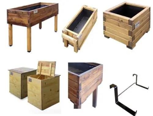 huerto1 - huerto de madera reciclada