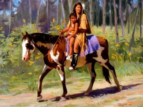 indios a caballo - indios-a-caballo
