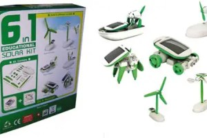 kit solar educativo 6 en 11 - Kit 6 en 1: juguetes solares