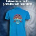 kukuxumusu11 - Camiseta solidaria de Kukuxumusu con los pescadores de Fukushima y los animales japoneses