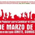 maltrato animal - Contra el maltrato animal en España: 25 de marzo 2012