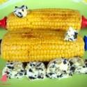mazorcas1 - Mazorcas de maíz con mantequilla de aceitunas y limón