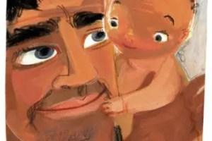 """papa y bebe - """"Un papá no es una mamá"""" de Sergio Sinay"""
