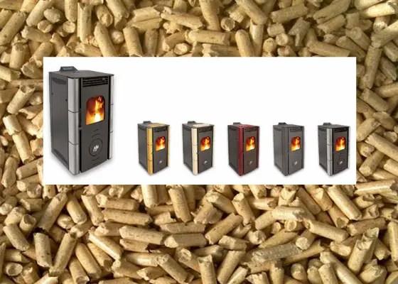 estufas de pellets