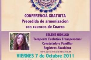 selene mallorca - Palma de Mallorca: conferencia gratuita precedida de armonización con cuencos de cuarzo