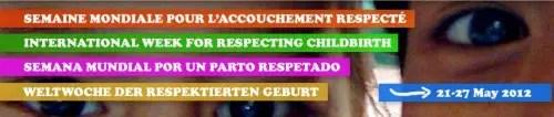 semana parto1 - semana parto respetado 2012