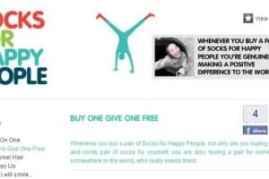 socks for happy people - Socks for Happy People: calcetines solidarios y sostenibles