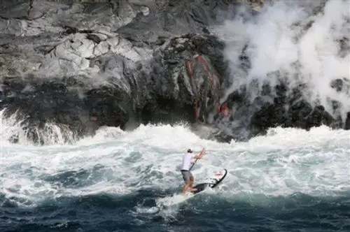surfeando - Volcano Paddler