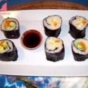 sushi - Receta de sushi vegetariano y vegano