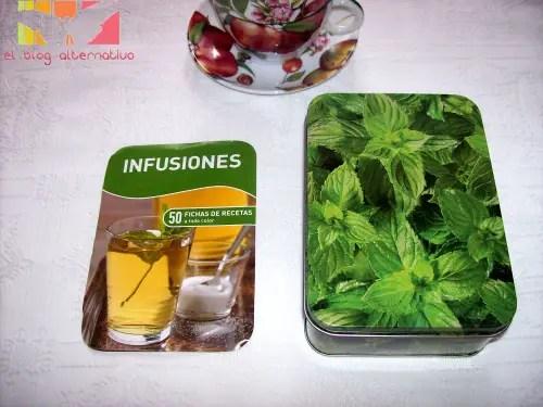 tes3 - infusiones. 50 fichas de recetas