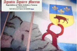 vidrio - Arte en vidrio reciclado de Agustín Aguirre
