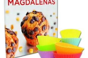 xavier barriga libro magdalenas - Libro de magdalenas con moldes de silicona del reconocido panadero-artesano Xavier Barriga
