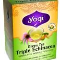 yogi tea equinacea1 - Yogi Tea Echinacea: una infusión ayurvédica para reforzar nuestro sistema inmunológico y postura de yoga para fortalecer el campo electromagnético