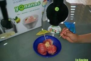 yonanas - Haciendo helados 100% de fruta con la Yonanas