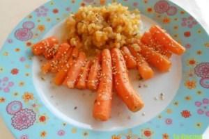 zanahorias confitadas - Receta de zanahorias confitadas
