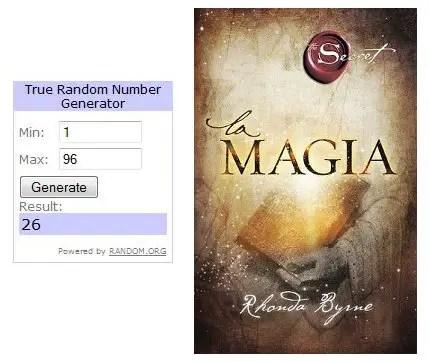 Ganadores Sorteo La Magia