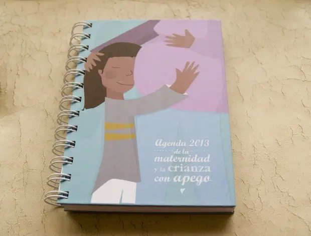 agenda crianza 2013 - Agenda de la maternidad y crianza con apego 2013