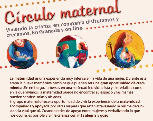 circulo maternal - AGENDA MUJER 2013: entrevista a Laura Martínez-Hortal sobre los dones de las mujeres cíclicas