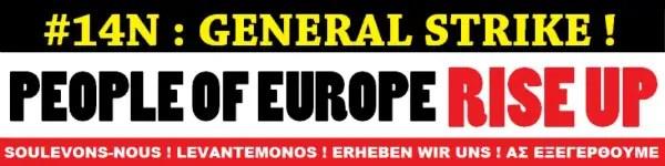 huelga general 14 n rise up - #14N: cuando las hormigas se unen, vencen