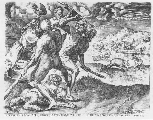img hercules36 - La captura de la manada de Gerión: el 12º trabajo de Hércules